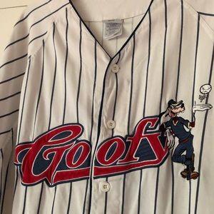 Vintage The Disney Store Goofy baseball